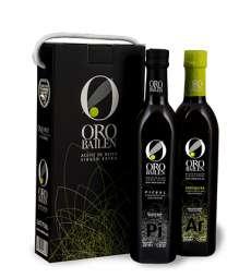 ekstra-neitsytoliiviöljy Oro Bailen.Estuche 2 botellas 750 ml.