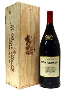 Punaviinit Viña Ardanza  en caja de madera (Magnum)