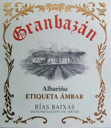 Valkoviinit Granbazan Etiqueta Ambar